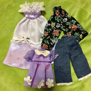 タカラトミー(Takara Tomy)のリカちゃん ワンピース ドレス ズボン タカラトミー ハンドメイド 洋服(ぬいぐるみ/人形)