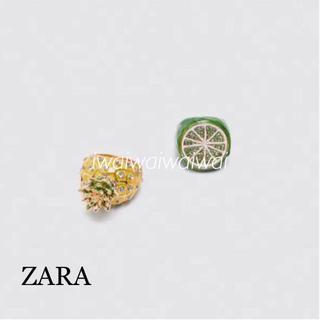 ZARA - 新品 完売品 ZARA フルーツ リングセット