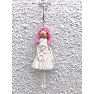ザラ(ZARA)のマクラメ人形キーホルダー#3(キーホルダー)