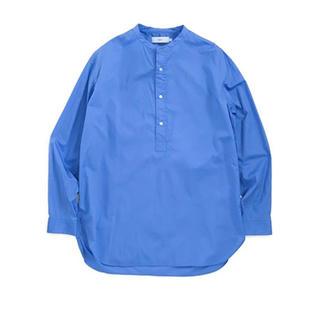 コモリ(COMOLI)のGraphpaper Broad Band Collar Shirt(シャツ)