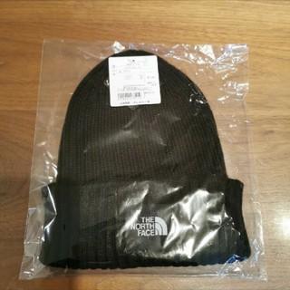 ザノースフェイス(THE NORTH FACE)の新品ニット帽 ブラック(ニット帽/ビーニー)
