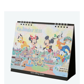 Disney - ディズニー カレンダー卓上2021