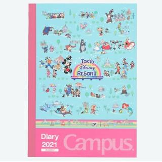 Disney - 東京ディズニーリゾート限定品 9月18日新商品 2021 ノート型 手帳