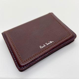 ポールスミス(Paul Smith)の新品未使用 ポールスミス Paul Smith パスケース カードケース(名刺入れ/定期入れ)