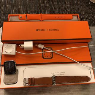 エルメス(Hermes)のApple Watch HERMES Series 5 44㎜(腕時計(デジタル))