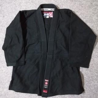 柔術衣 上衣 黒 2L(相撲/武道)