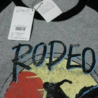 ロデオクラウンズワイドボウル(RODEO CROWNS WIDE BOWL)の新品 ロデオラグランTシャツ(Tシャツ/カットソー(七分/長袖))
