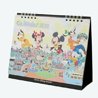Disney - 東京ディズニーリゾート限定品 9月18日新商品 2021 卓上カレンダー