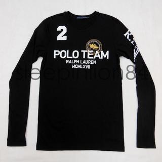 ラルフローレン(Ralph Lauren)のRALPH LAUREN R.L.POLO プリント 刺繍 長袖Tシャツ ロンT(Tシャツ(長袖/七分))