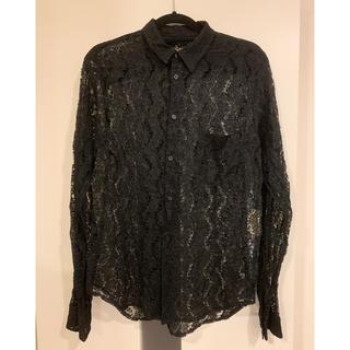 ブラックコムデギャルソン(BLACK COMME des GARCONS)のコムデギャルソン  ブラック レースシャツ(シャツ)