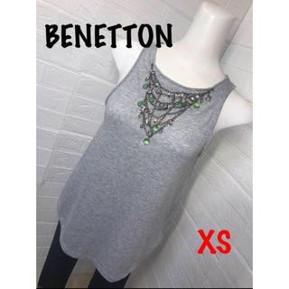 ベネトン(BENETTON)のユナイテッドカラーオブベネトンキラキラビジュー取り外し可能(Tシャツ(半袖/袖なし))