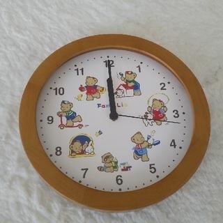 ファミリア(familiar)のファミリア 掛け時計(掛時計/柱時計)