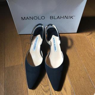 マノロブラニク(MANOLO BLAHNIK)のマノロブラニクManolo Blahnik  キャロリン 36(ハイヒール/パンプス)