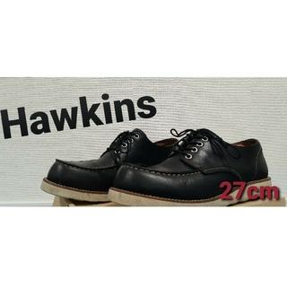 ホーキンス(HAWKINS)のホーキンス ローカットブーツ 黒 メンズ(ブーツ)