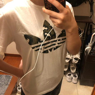 adidas - アディダス 迷彩Tシャツ Sサイズ