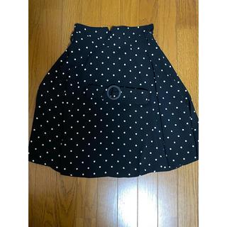 ミッシュマッシュ(MISCH MASCH)のミッシュマッシュ ドット スカート(ひざ丈スカート)