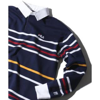 FILA - FILA ラガーシャツ  長袖ポロシャツ 新品