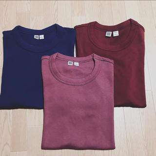 UNIQLO - UNIQLO U ★Tシャツ3枚セット★2点新品未使用