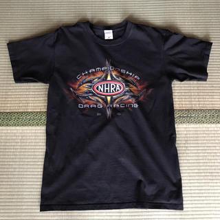 アンビル(Anvil)の送料込み! アメリカ輸入 NHRA  ドラッグレース プリントTシャツ(Tシャツ/カットソー(半袖/袖なし))