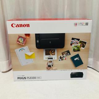 キヤノン(Canon)の《新品》Canon プリンター PIXUS TS3330BK(オフィス用品一般)