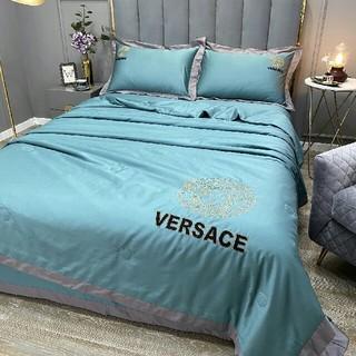 VERSACE - Versace 寝具バーセット4点セット 金糸の刺繍