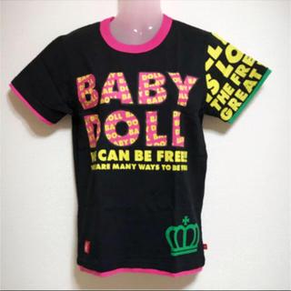 BABYDOLL - タグ付き BABY DOLL レディースS Tシャツ ブラック
