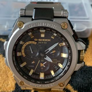 ジーショック(G-SHOCK)のCASIO    G SHOCK   MT-G  GPSハイブリッド電波ソーラー(腕時計(アナログ))
