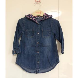 ザラキッズ(ZARA KIDS)の《美品》海外ブランド デニムシャツ パーカー(ジャケット/上着)