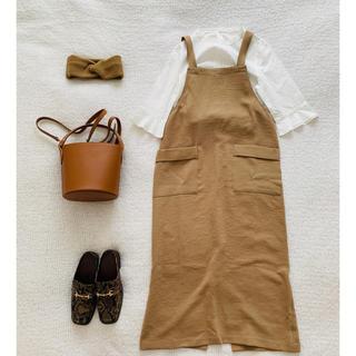 ジャーナルスタンダード(JOURNAL STANDARD)のジャーナルスタンダード♡サロペットスカート美品(ロングスカート)