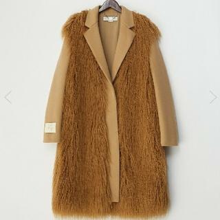 ステラマッカートニー(Stella McCartney)の30万☺️Stellamccartney34  エコファーコート(毛皮/ファーコート)