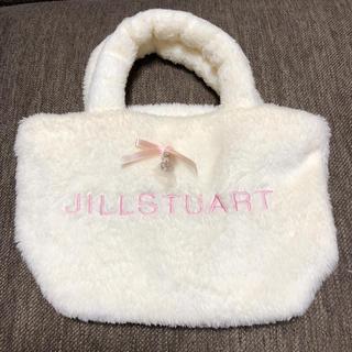 JILLSTUART - 新品未使用 雑誌付録 JILLSTUART ファーミニトートバッグ