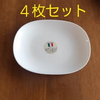 山崎製パン - ⑦白いモーニングプレート 4枚セット