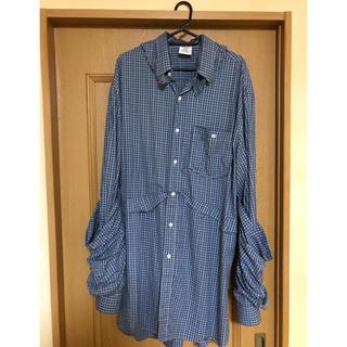 バレンシアガ(Balenciaga)のvetements再構築レイヤードシャツ(シャツ)