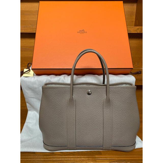Hermes(エルメス)のエルメス☆ガーデンパーティーTPM☆トゥルティエールグレー☆グリトゥル☆X刻 レディースのバッグ(トートバッグ)の商品写真