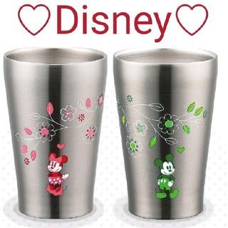 Disney - 【新品】Disney限定ミッキー&ミニーペアステンレスタンブラー
