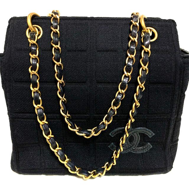 CHANEL(シャネル)のシャネル チョコバー チェーンハンドバッグ レディースのバッグ(ハンドバッグ)の商品写真