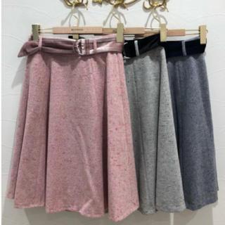 ミッシュマッシュ(MISCH MASCH)のミッシュマッシュ スカート ピンク(ひざ丈スカート)
