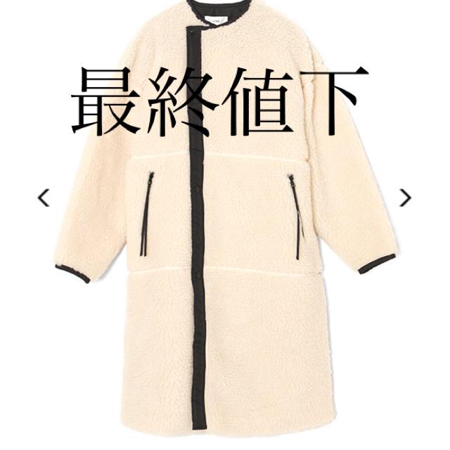 HYKE(ハイク)のHYKE FAUX SHEARLING COAT新品 レディースのジャケット/アウター(毛皮/ファーコート)の商品写真
