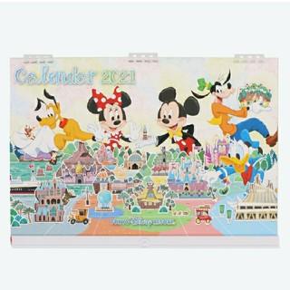 Disney - 東京ディズニーリゾート限定品 9月18日新商品 2021 壁掛けカレンダー