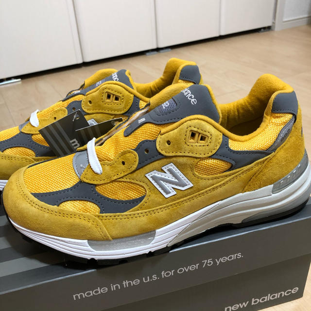 New Balance(ニューバランス)の海外限定カラー ニューバランス M992 26cm メンズの靴/シューズ(スニーカー)の商品写真