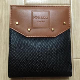 ニナリッチ(NINA RICCI)の新品未使用 ニナリッチ 折り財布(折り財布)
