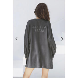 ALEXIA STAM - Back Separated Logo Long Sleeve Tee