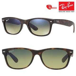 Ray-Ban - RayBan ニューウェイファーラー RB2132 894/76 偏光レンズ