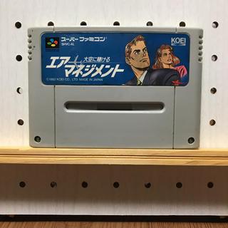 スーパーファミコン(スーパーファミコン)のエアーマネジメント(家庭用ゲームソフト)