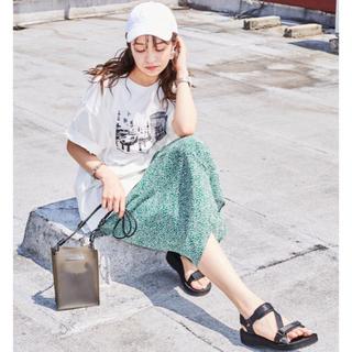 カンゴール(KANGOL)のKANGOL❁︎フォトプリントTシャツ(Tシャツ(半袖/袖なし))