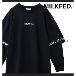 ミルクフェド(MILKFED.)のミルクフェド MILKFED. ロゴトップ Tシャツ 長袖 (Tシャツ(長袖/七分))