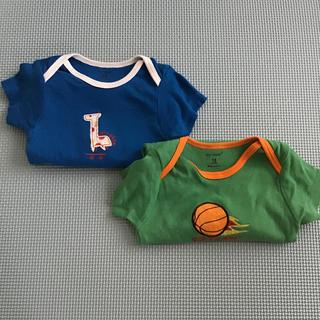 carter's - 赤ちゃん半袖ボディースーツ 18m2枚セット