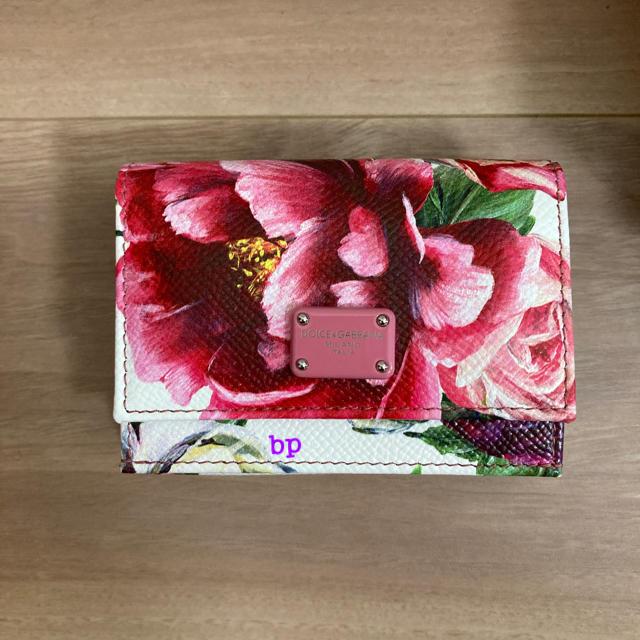 DOLCE&GABBANA(ドルチェアンドガッバーナ)の【未使用】 DOLCE&GABBANA 花柄ミニウォレット レディースのファッション小物(財布)の商品写真