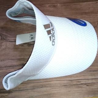 アディダス(adidas)の【未使用】アディダス ゴルフ 帽子 サンバイザー キャップ(その他)