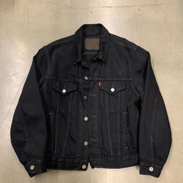 Levi's(リーバイス)のvintage levis denim jacket black メンズのジャケット/アウター(Gジャン/デニムジャケット)の商品写真